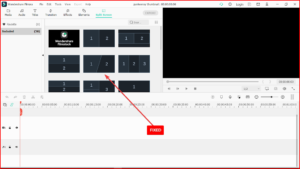 fixed filmora split screen issue
