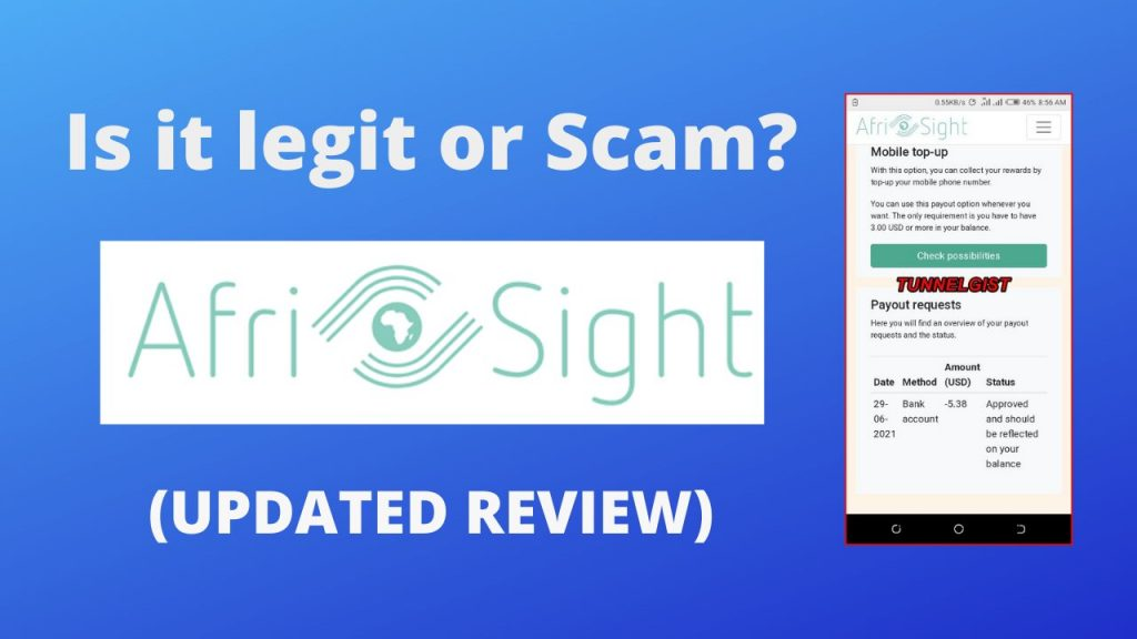 Afrisight Survey Reviews | Is Afrisight legit or Scam in Africa, find out? (UPDATED REVIEW)