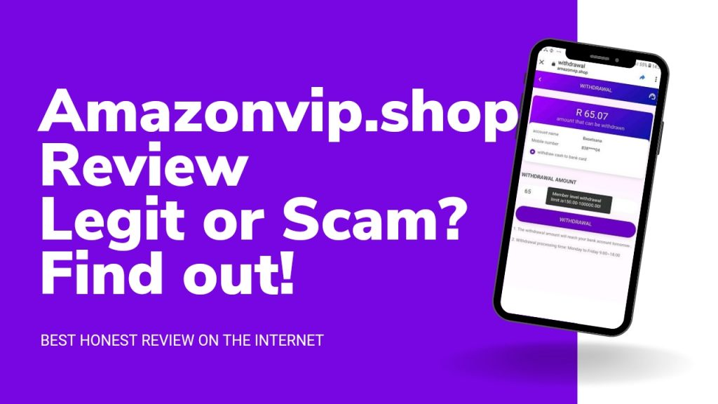 Amazonvip.shop Reviews ( Is Amazonvip.shop Legit or Scam, Sign Up and Login