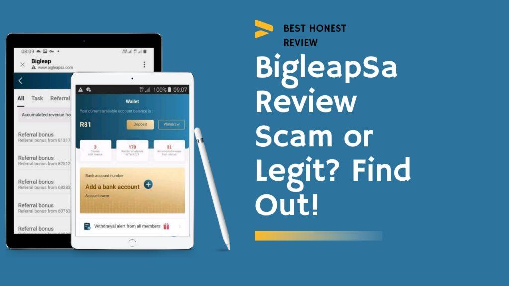 Bigleapsa Reviews ( Is Bigleapsa Legit or Scam, Sign Up and Login