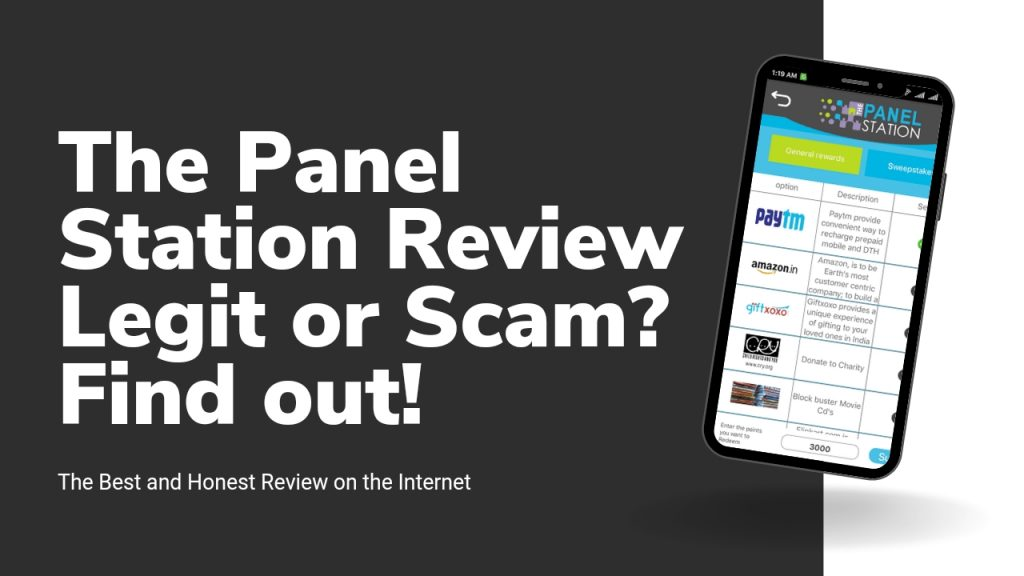 The Panel Station Reviews ( Is the Panel Station Legit or Scam, Sign Up and Login