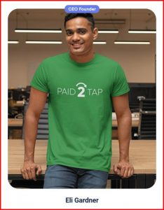 Who is the owner (CEO) of Paid2tap.com?