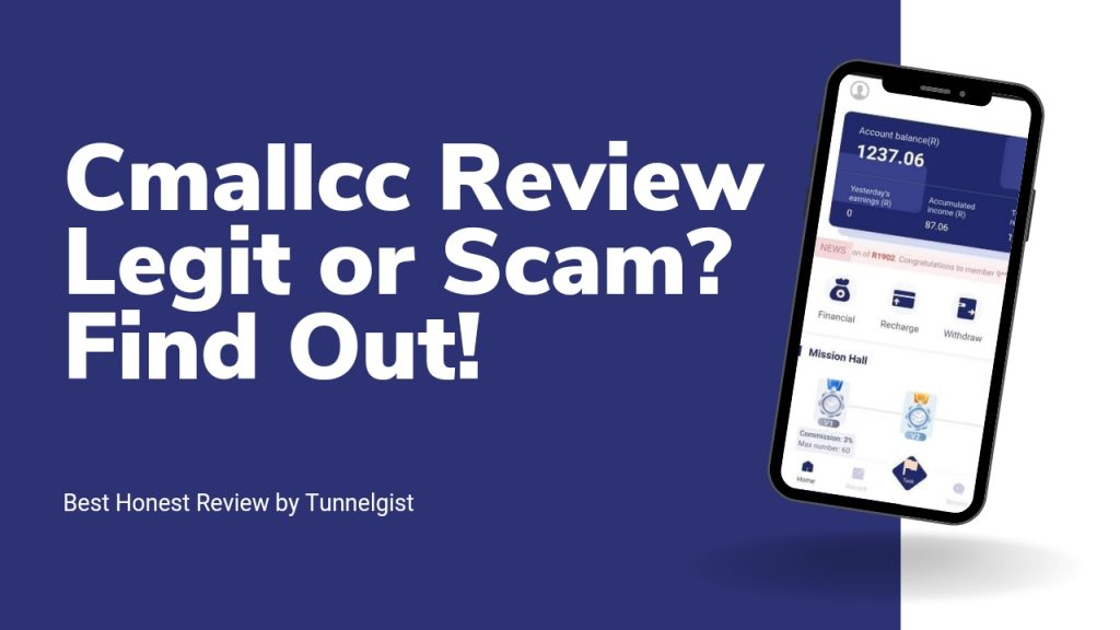 Cmallcc Reviews ( Is Cmallcc.com Legit or Scam, Sign Up and Login