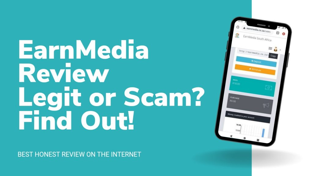EarnMedia.co.za Reviews ( Is EarnMedia Legit or Scam, Sign Up and Login