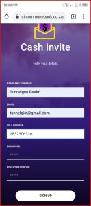 Ci.communebank.co.za Sign Up | How to Register on Ci.communebank.co.za