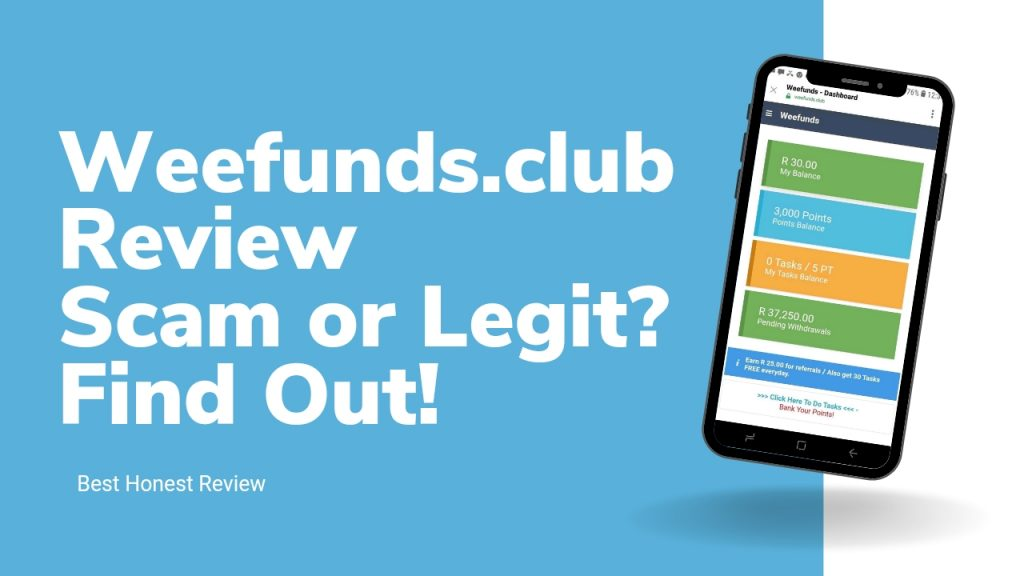 Weefunds.club Reviews ( Is Weefunds.club Legit or Scam, Sign Up and Login