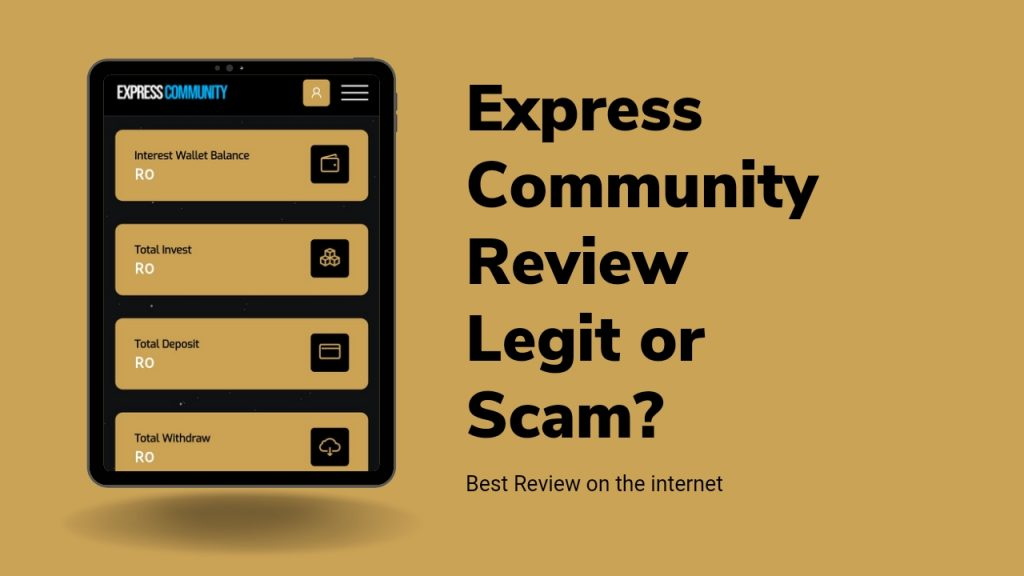 Express Community Review ( Is Express Community Legit or Scam, Register & Earn