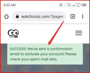 Watchcruiz Sign Up   How to Register on Watchcruiz