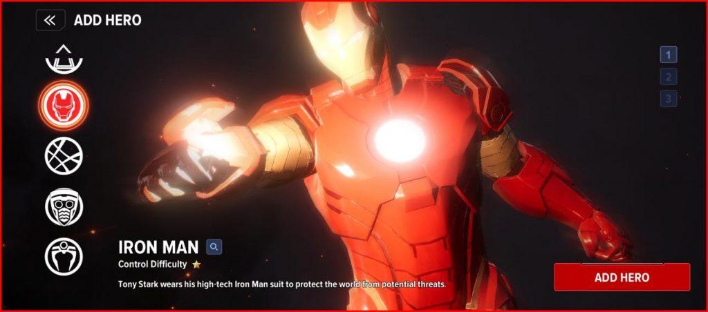 Marvel future revolution Story Mode