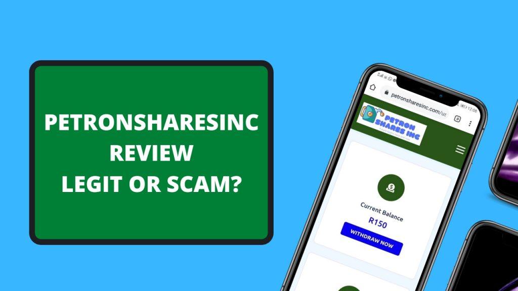 Petronsharesinc Review ( Is Petronsharesinc Legit or Scam, Earn, Login