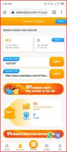 Solarcityza.com Referral   How to Refer and earn on Solarcityza