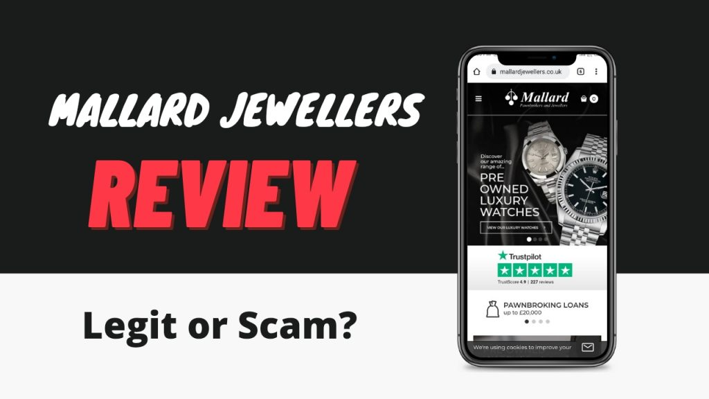 Mallard Jewellers Review ( Is Mallard Jewellers Legit or Scam)  Sign Up and Order