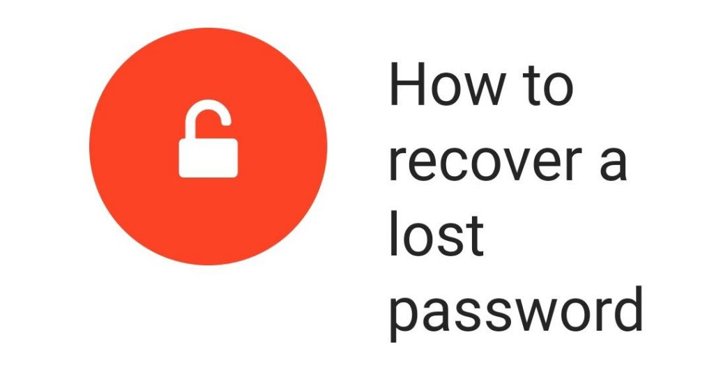 How to Recover password using Lostmypass