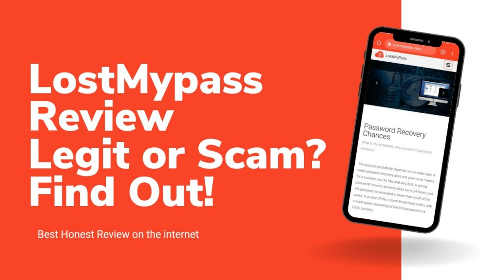 LostMyPass Review ( Is Lost My Pass Legit) Recover Password