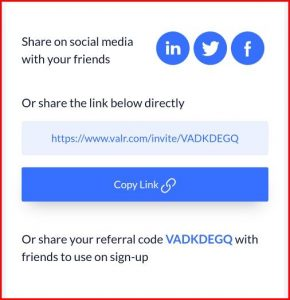 Valr Referral   How to Refer and earn on Valr.com