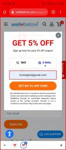 Wellbefore Coupon code